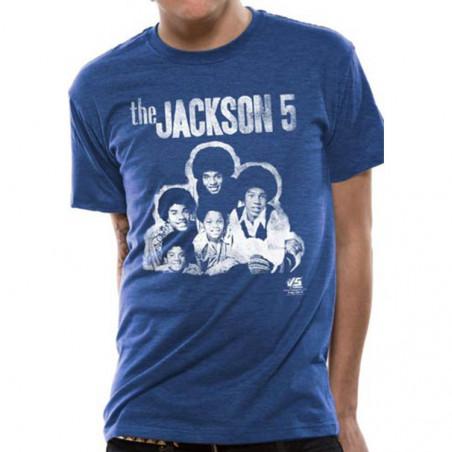 T-paita Jackson 5 - group photo