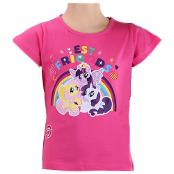 Lasten t-paita My Little Pony vaalea pinkki