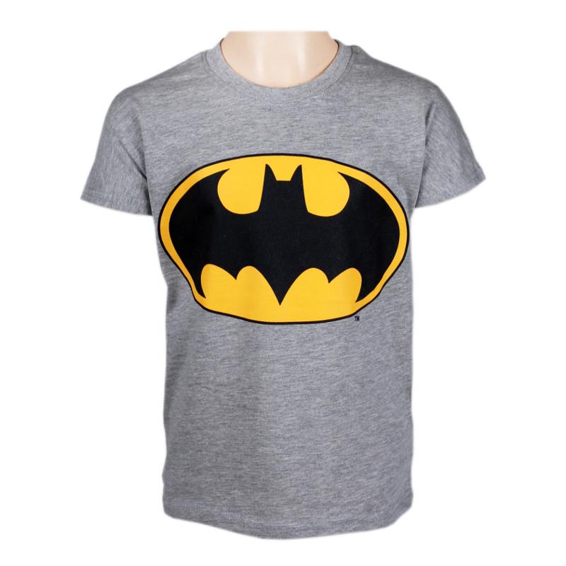 Lasten t-paita Batman harmaa
