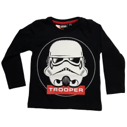 Lasten t-paita Star Wars Trooper musta
