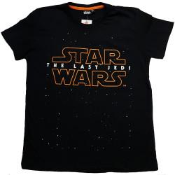 Lasten t-paita Star Wars The Last Jedi musta