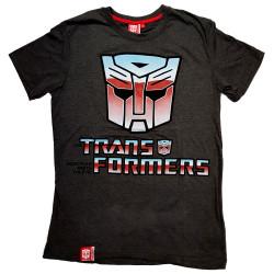 T-paita Transformers tumma harmaa
