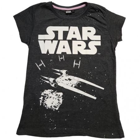 T-paita Star Wars tumma harmaa
