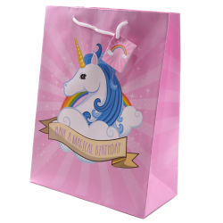 Lahjapussi Unicorn - Have a magical birthday