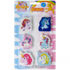 Pyyhekumi Unicorn, 6 kumin setti