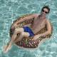 Uimarengas ruskea donitsi 107cm