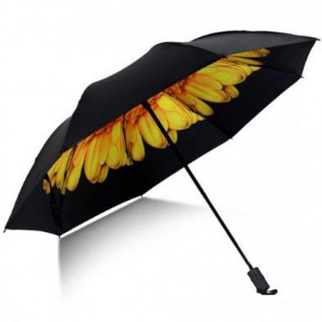 Sateenvarjo keltainen kukka
