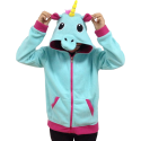 Unicorn fleecehuppari