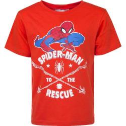 Lasten t-paita Spiderman punainen