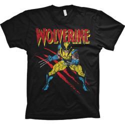 T-paita Wolverine musta