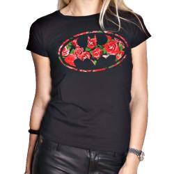 T-paita DC Comics Batman kukkalogo
