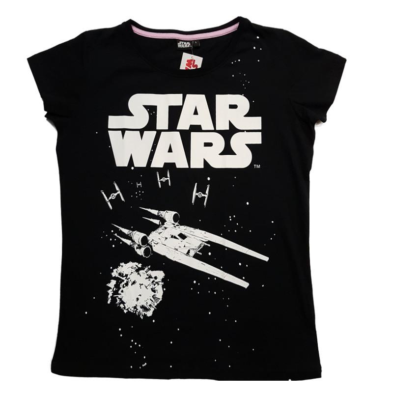 T-paita Star Wars musta