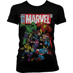 T-paita Marvel Team-Up Girly