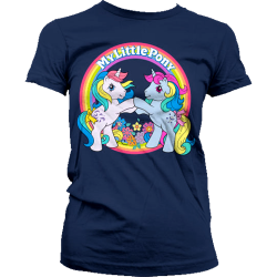 T-paita My Little Pony - Best Friends Girly Navy