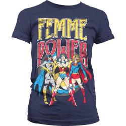 T-paita Femme Power Girly