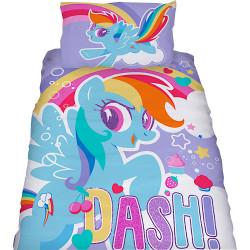 Lasten pussilakanasetti My Little Pony Sateenkaari (Rainbow Dash)