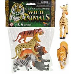 Viidakon villieläimet (6kpl)