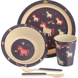 Lasten ruokailusetti - Unicorn