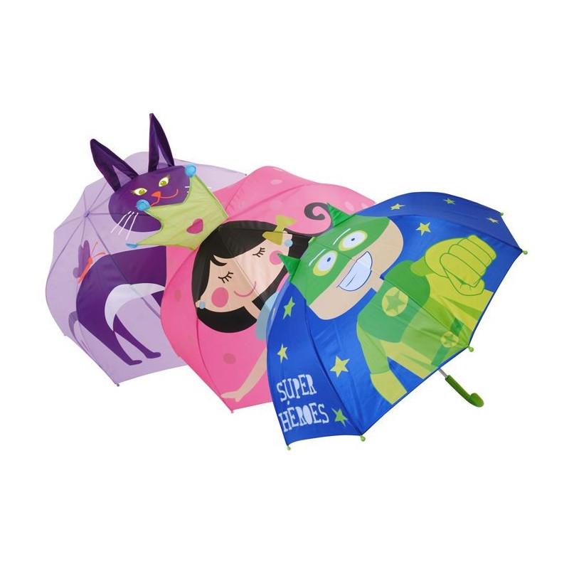 Lasten 3D sateenvarjo